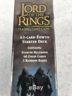Lord of the Rings Shadows 63 Card Eowyn Starter Deck Trading Card Game NIP