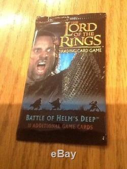 Lord of the Rings TCG Battle of Helm's Deep Booster Pack Trading Card Game New