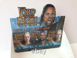 Lord of the Rings TCG Battle of Helm's Deep Trading Card Game Store Display Box