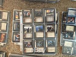 Lord of the Rings TCG Lot of 18 Complete Sets 1-11 Not played M/NM 2500+ Cards