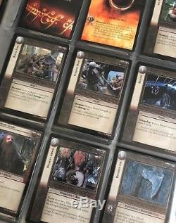 Lord of the Rings TCG Lot of 5 Complete Sets 1300+ Cards M/NM Missing 1 card