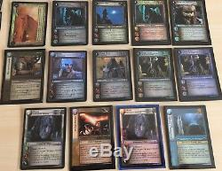 Lord of the Rings TCG Rare Lot of 37 Hunters Rare Cards NM/M 15R 15RF (14 FOILS)