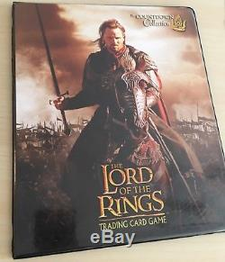 Lord of the Rings TCG Rare Lot of 60 Promo Cards & Binder NM/M (40 FOILS)