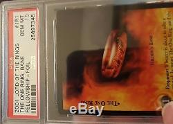 Lord of the Rings TCG The One Ring-Isildur's Bane FOIL 2001 PSA 10 GEM MINT POP1