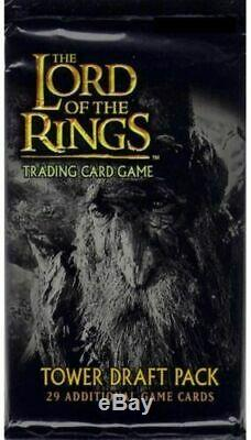 Lord of the Rings TCG Tower Draft Booster Pack 29 Cards Trading Card Game NEW