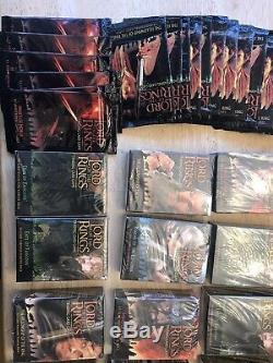 Lord of the Rings TCG Trading Card Game 25 Booster 24 Starter Lot