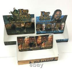 Lord of the Rings TCG Trading Card Game Retail Store Display Box LOT