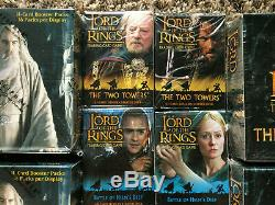 Lord of the Rings TCG Two Towers Booster Box/Starter Deck Lot Aragorn/Theoden