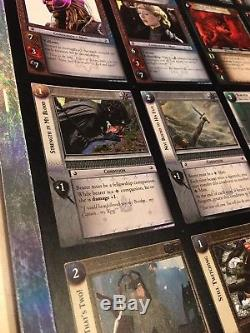 Lord of the Rings TCG Uncut Sheet Ages End FOIL Rare Promo (19P) LOTR