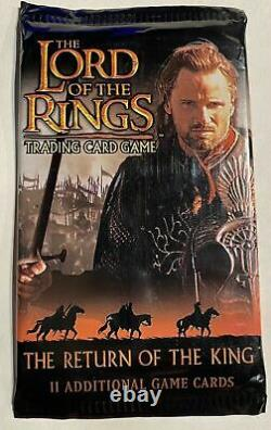 Lord of the Rings The Return of the King Trading Card Game Booster