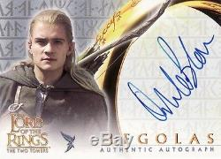 Lord of the Rings The Two Towers Orlando Bloom as Legolas Auto Card LotR