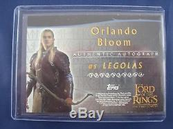 Lord of the Rings The Two Towers Orlando Bloom as Legolas Autograph Card