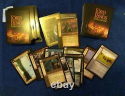 Lord of the Rings Trading Card Game (198 Cards) Lot 2001 Decipher