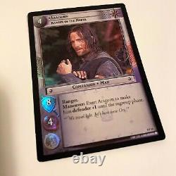 Lord of the Rings Trading Card Game Aragorn Card Foil 2002 Decipher LOTR