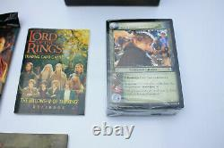 Lord of the Rings Trading Card Game Deluxe Starter Set COMPLETE VGC + 118 cards