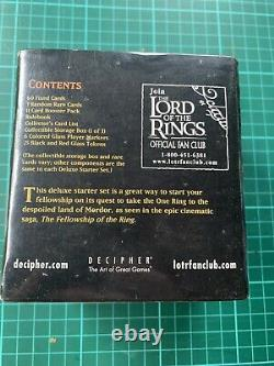 Lord of the Rings Trading Card Game Deluxe Starter Set Sealed
