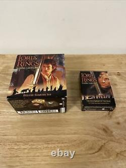 Lord of the Rings Trading Card Game Deluxe Starter Set + The Fellowship 159 Card