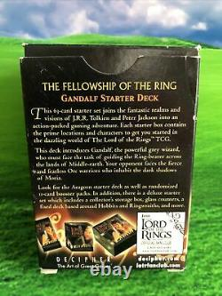 Lord of the Rings Trading Card Game Gandalf Starter Deck +FREE Pack Of Cards