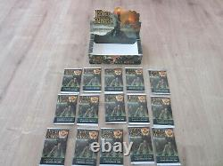 Lord of the Rings Trading Card Game, LOTR TCG, 15 x Mount Doom Booster, OVP