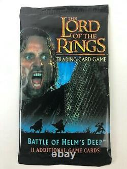Lord of the Rings Trading Card Game LOTR TCG Battle of Helms Deep Expansion Pk