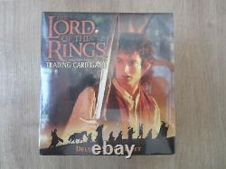 Lord of the Rings Trading Card Game, LOTR TCG, Fellowship Deluxe Starter, OVP