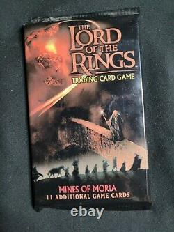 Lord of the Rings Trading Card Game LOTR TCG Mines of Moria Expansion pk 2002
