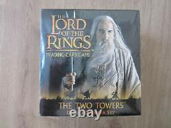 Lord of the Rings Trading Card Game, LOTR TCG, The Two Towers Deluxe Starter, OVP