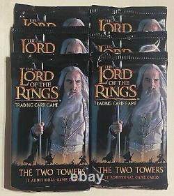 Lord of the Rings Trading Card Game LOTR TCG The Two Towers Expansion pack Lot 6