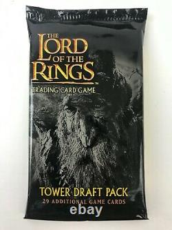 Lord of the Rings Trading Card Game LOTR TCG Tower Draft Pack 29 cards