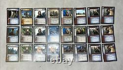 Lord of the Rings Trading Card Game Lot 162 Cards Decipher 2002 2003 LOTR TCG
