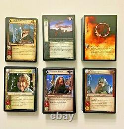 Lord of the Rings Trading Card Game (Lot of 324) 2002 Decipher, foils & rares