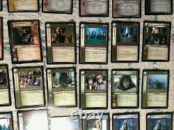Lord of the Rings Trading Card Game Lot of 91 cards 2001-2003 decipher