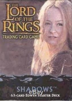 Lord of the Rings Trading Card Game Shadows Eowyn Starter Deck