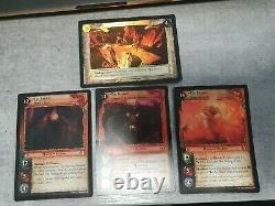 Lord of the Rings Trading Card Game TCG LOTR, The Balrog foiled collection
