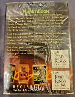 Lord of the Rings Trading Card Game TCG Mount Doom Frodo 63-Card Starter Deck