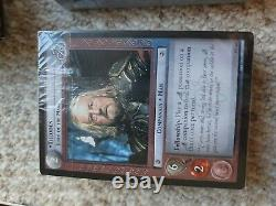 Lord of the Rings Trading Card Game Two Player Quick Start no CD-ROM very good