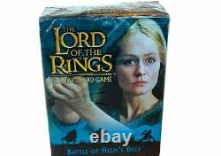 Lord of the Rings Trading Card Game deck set SEALED New Battle Helms Deep Eowyn