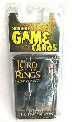 Lord of the Rings Trading card game, The Two Towers 7 Movie Cards