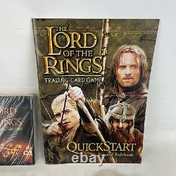 Lord of the Rings Two Player Trading Card Game CD Quick Tutorial Cards Sealed