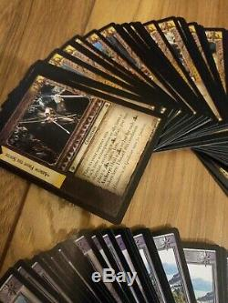 Lord of the Rings trading card game The two towers Expansion 398 Cards Lot OOP