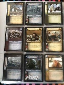 Lord of the Rings trading card game lot. 150+ Cards