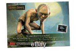 Lord of the rings masterpieces sketch card Ring Wraith by Dave Fox 1/1 Rare