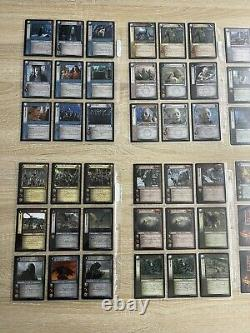 Lord of the rings trading card game lot 101 cards Ents Of Fangorn