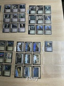 Lord of the rings trading card game lot 181 cards The Two Towers