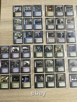 Lord of the rings trading card game lot 190 cards Shadows