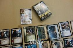 Lord of the rings trading card game lot 191 cards the two towers