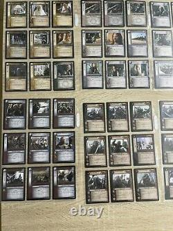 Lord of the rings trading card game lot 202 cards Siege Of Gondor