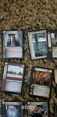 Lord of the rings trading card game lot 21 mixed cards see pictures of items