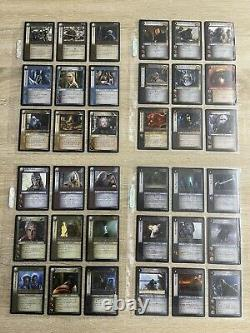 Lord of the rings trading card game lot 69 cards Black Rider