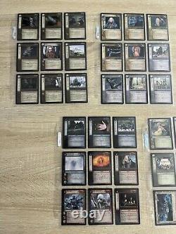 Lord of the rings trading card game lot 82 cards Mines Of Moriah